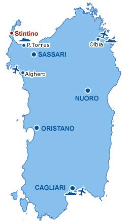 Cartina Porti Sardegna.La Pelosetta Residence Hotel Stintino Sardegna Dove Siamo